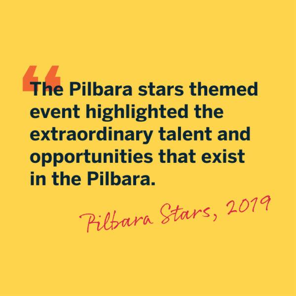 Showcasing the shining stars of the Pilbara